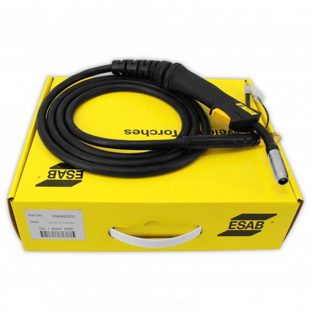 ESAB Caddymig C160i/C200i MXL 180 3m Torch