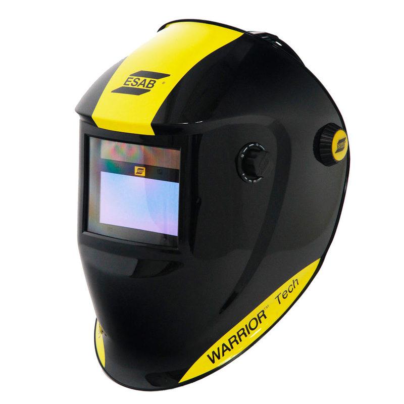 Welding Helmet Warrior-Tech Black for Air