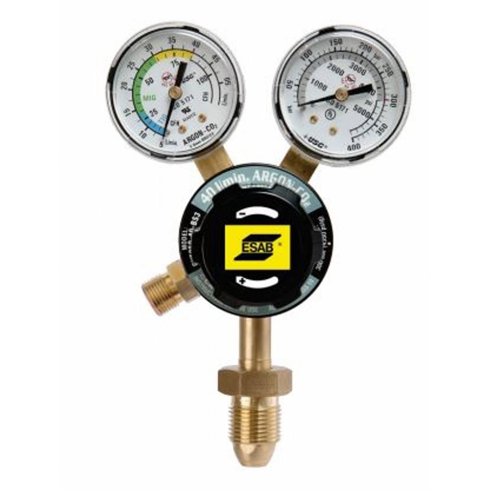 ESAB G250 TIG S/S ARGON/CO2 2BAR PRESET REGULATOR BE