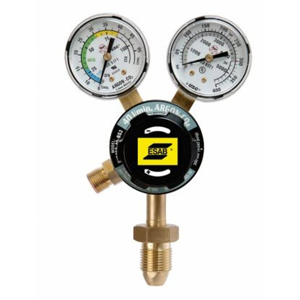 ESAB G250 TIG S/S ARGON/CO2 2BAR PRESET REGULATOR SE