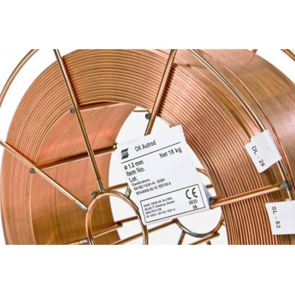 Mig Wire Mild Steel ESAB 12.51 1.0mm 5Kg