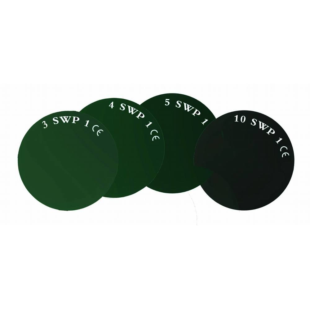 "4 1/4x2"" Shade 11 Glass Lens"