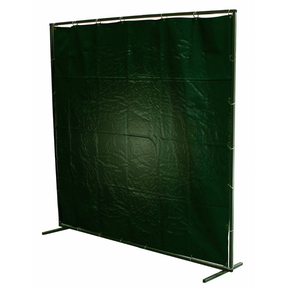 Curtain Green PVC 6x6