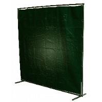 8 X 6 PVC GREEN CURTAIN