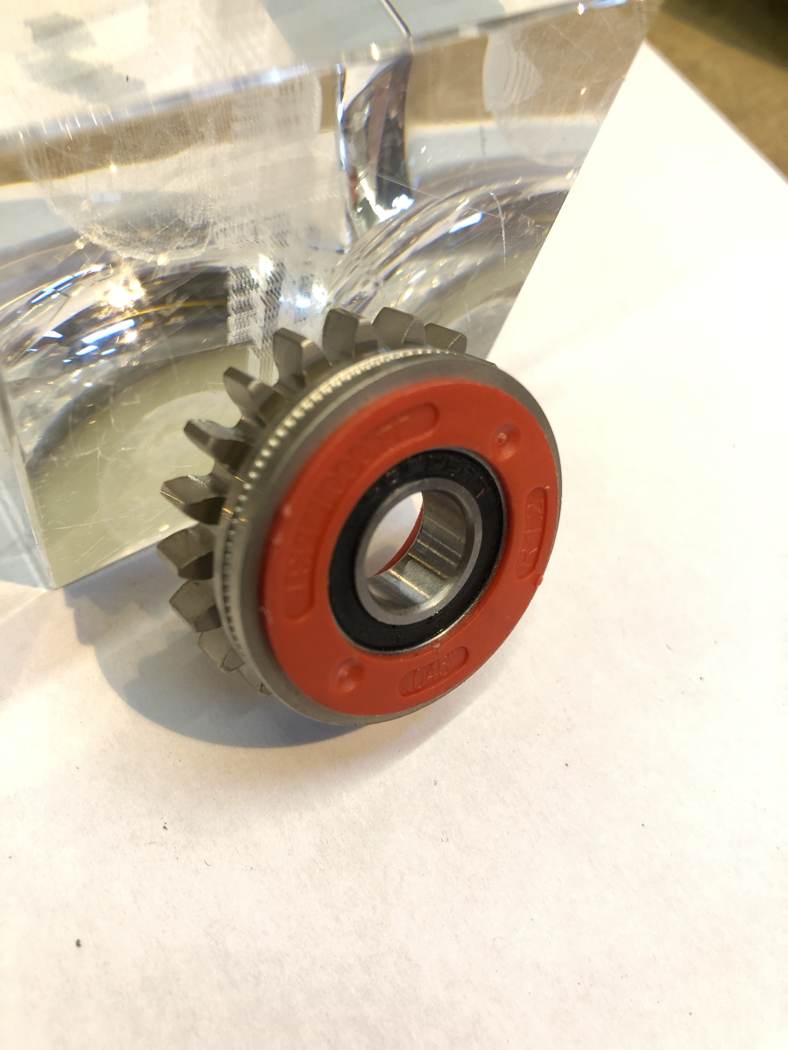 Fronius Feed Roll R Red 1.2mm Knurled - For Cored Wires