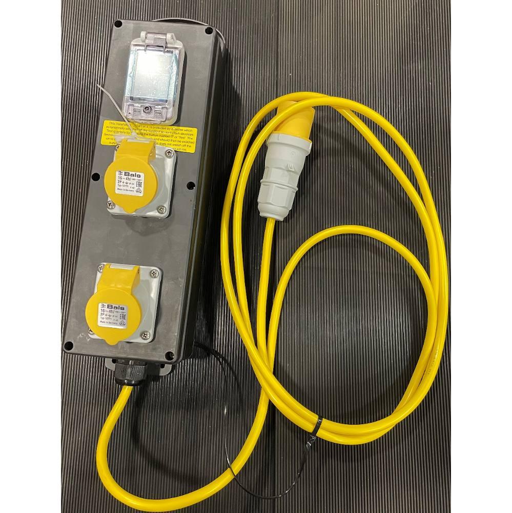 RCD Unit 110v (2 x 16A Outlet)
