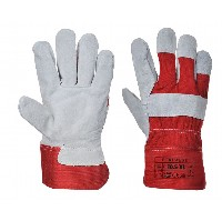 Gloves Premium Red Riggers (White/Red)