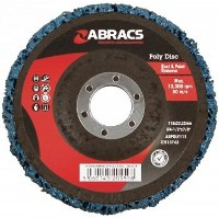 Blue Poly Disc 115mm