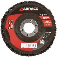 Black Poly Disc 115mm