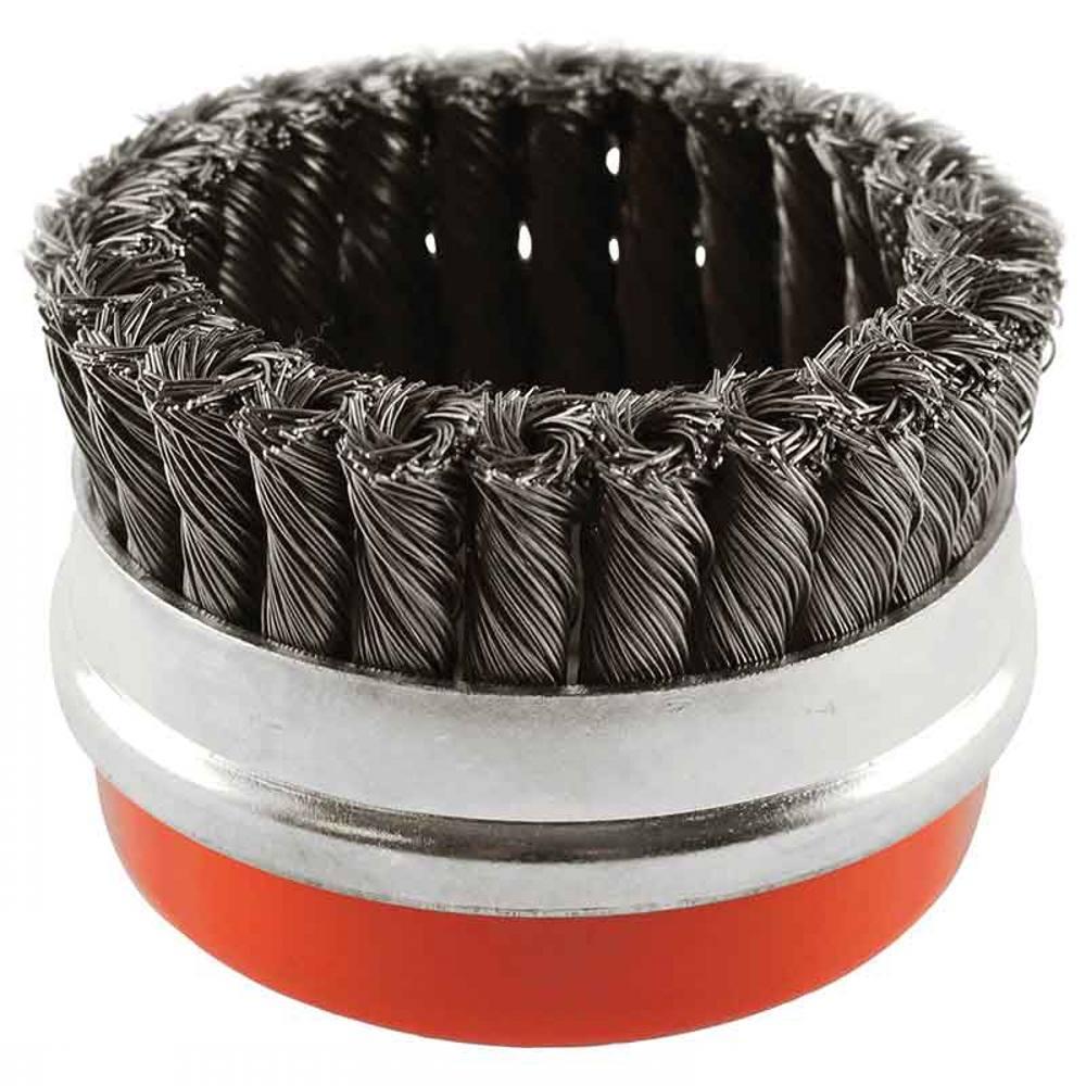 95mm x M14 Cup Brush Twist Wire S-T 0.50