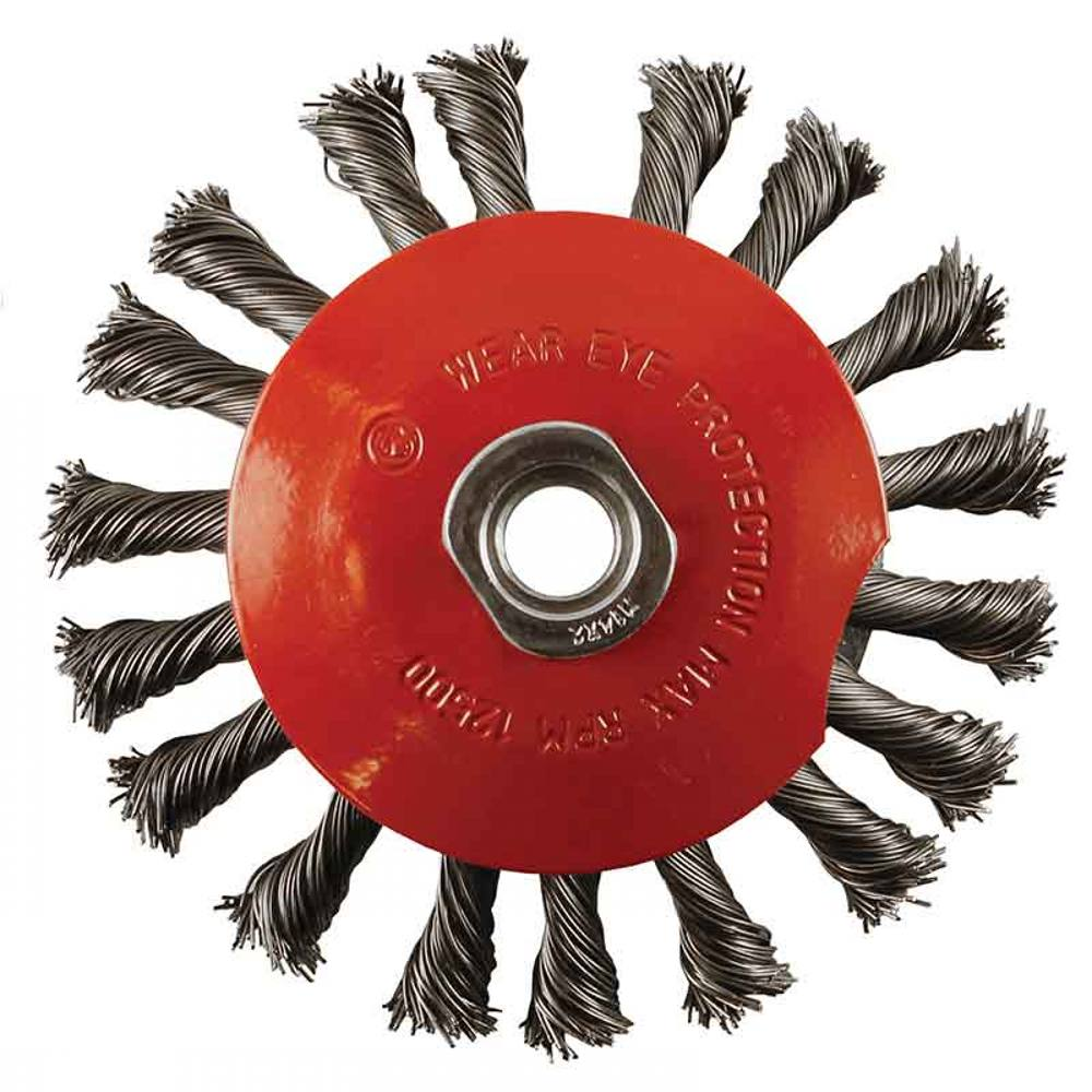 Abracs 115 x M14 Bevel Brush Twisted Wire S-T 0.5