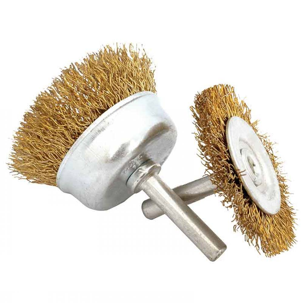 Circular Brush Spindle Mounted S/S 50mm