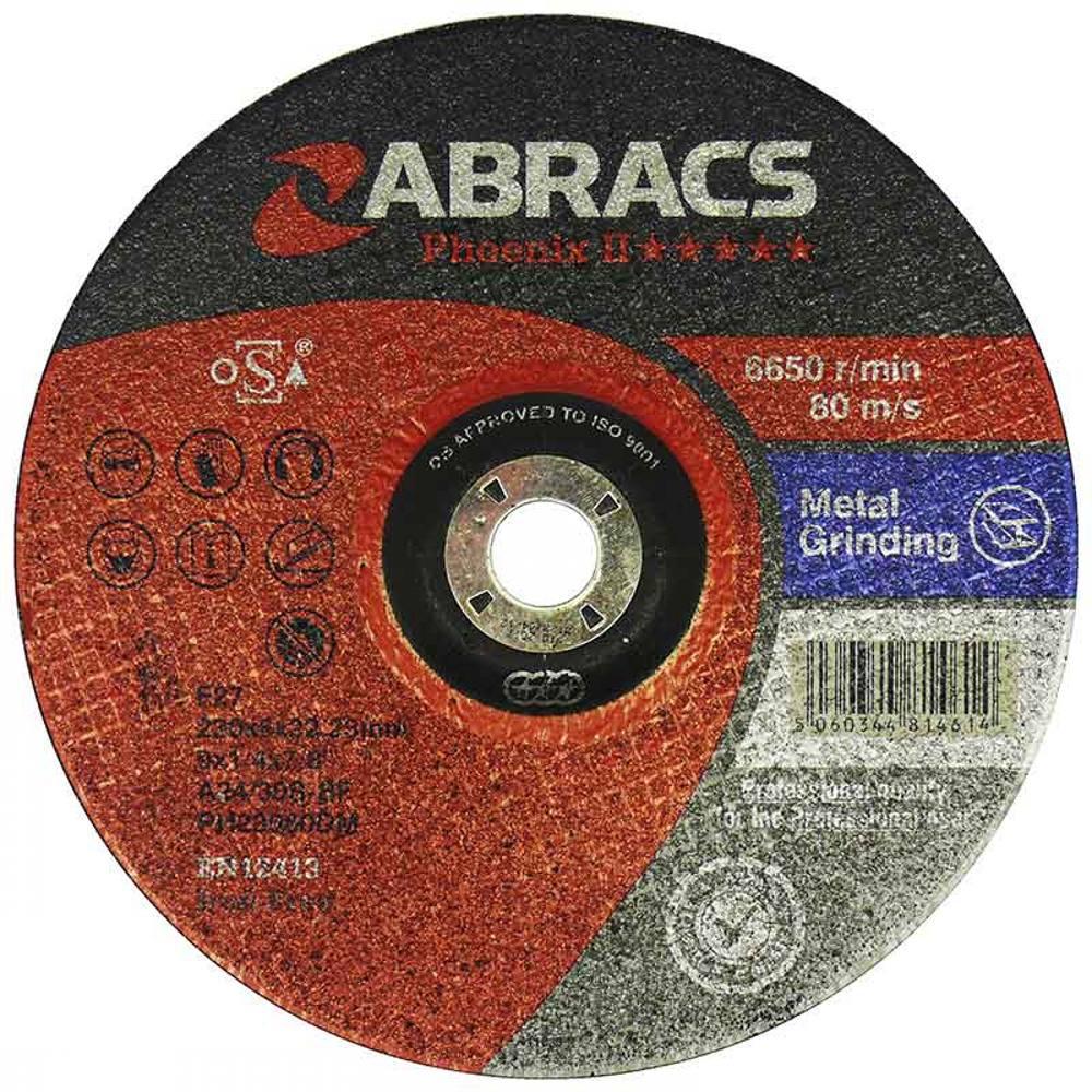 DPC Metal Grinding Disc 178mm