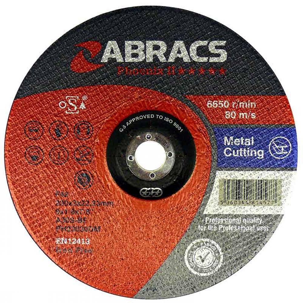 Phoenix 2 Flat Metal Cutting Disc 300mm