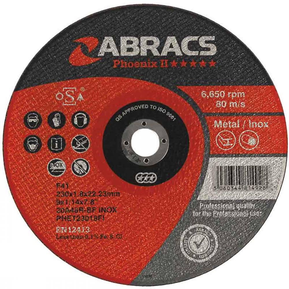 Phoenix 2 Flat Inox Extra Thin Cutting Disc