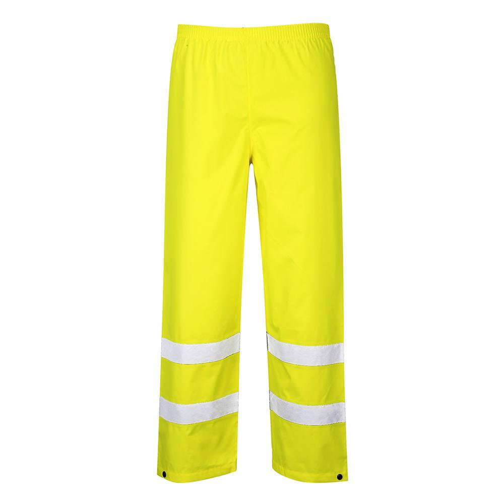 Hi-viz Traffic Trousers - Large - Yellow - Portwest