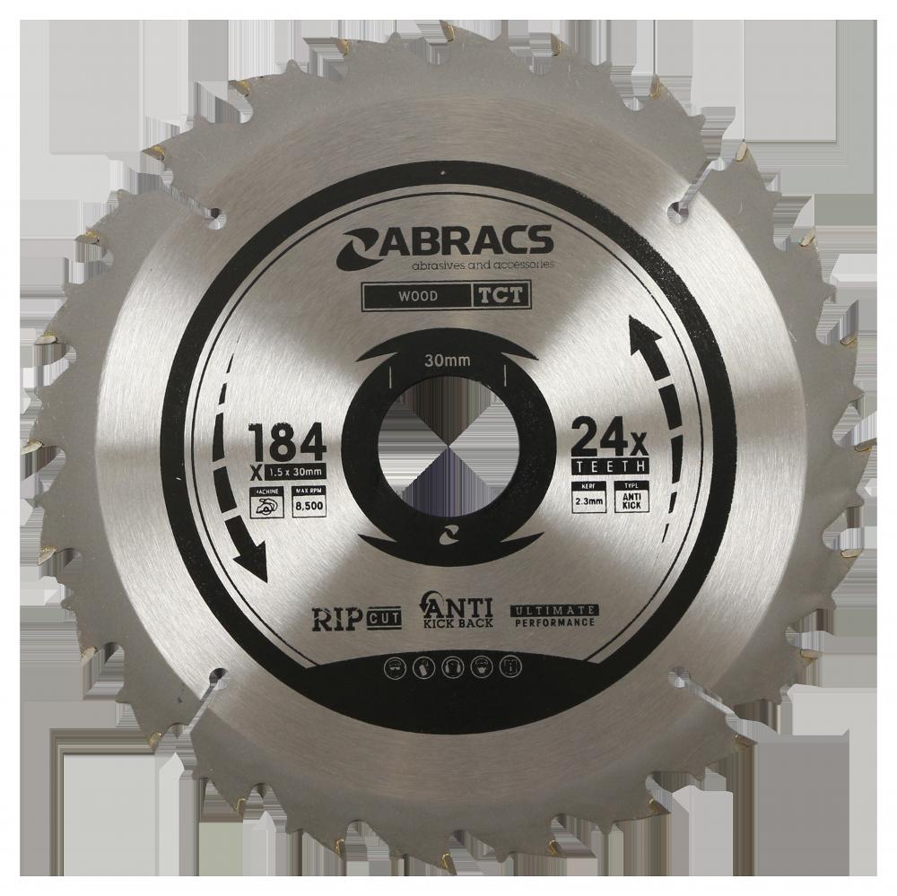 TCT Blade 184mm x 1.5mm 24 Teeth