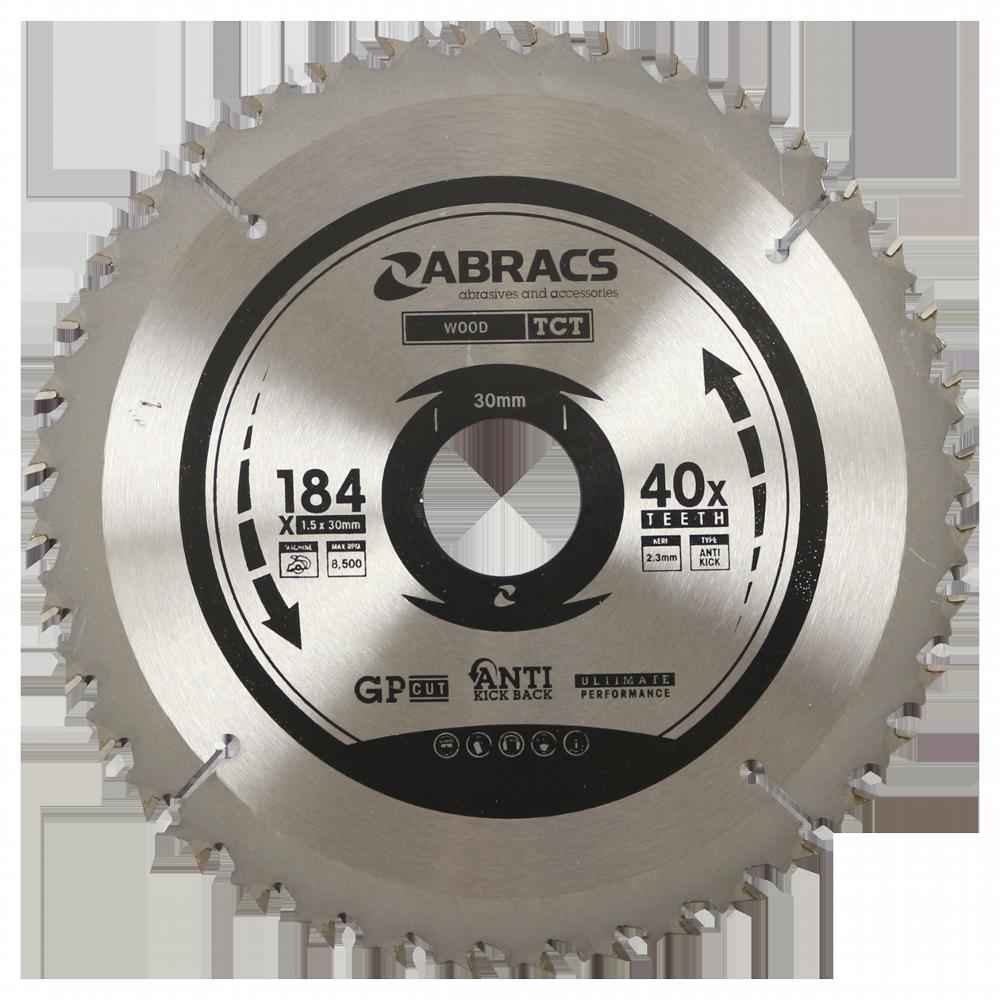 TCT Blade 184mm x 1.5mm 40 Teeth